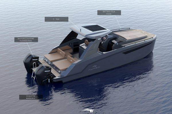 Aurea Yachts - 30 Cabin - T.TOP