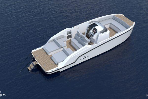 Aurea Yachts 30 Open - configurazione - 02