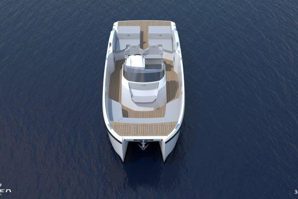 Aurea Yachts 30 Open - configurazione - 03
