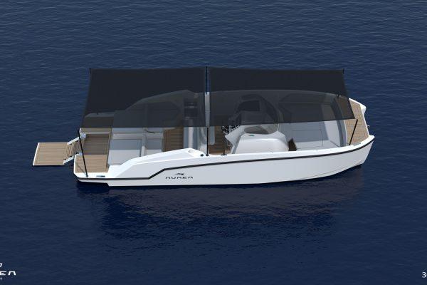 Aurea Yachts 30 Open - configurazione - 04