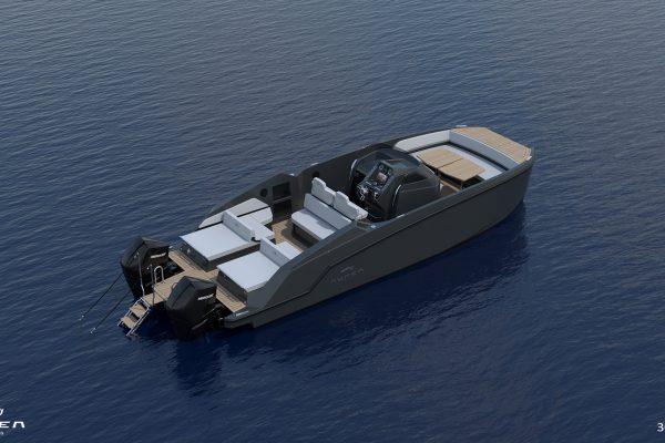 Aurea Yachts 30 Open - configurazione - 08