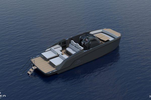 Aurea Yachts 30 Open - configurazione - 09