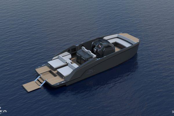 Aurea Yachts 30 Open - configurazione - 10