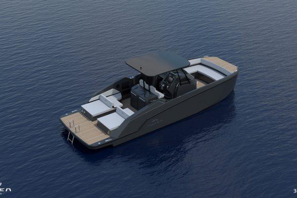 Aurea Yachts 30 Open - configurazione - 11