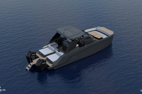 Aurea Yachts 30 Open - configurazione - 14